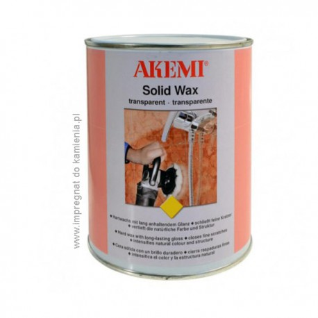 AKEMI Woskowa pasta polerująca Solid Wax